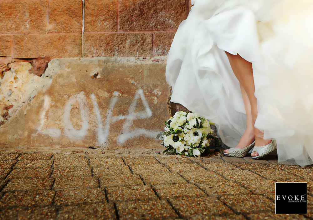 Bride & Groom equals LOVE