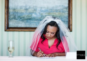 A Love Note to her Dearest Husband To Be