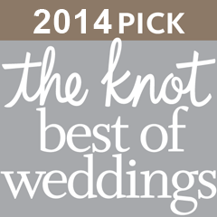 2014 Bride's pick for the Best of Weddings from The Knot. Photography and Video