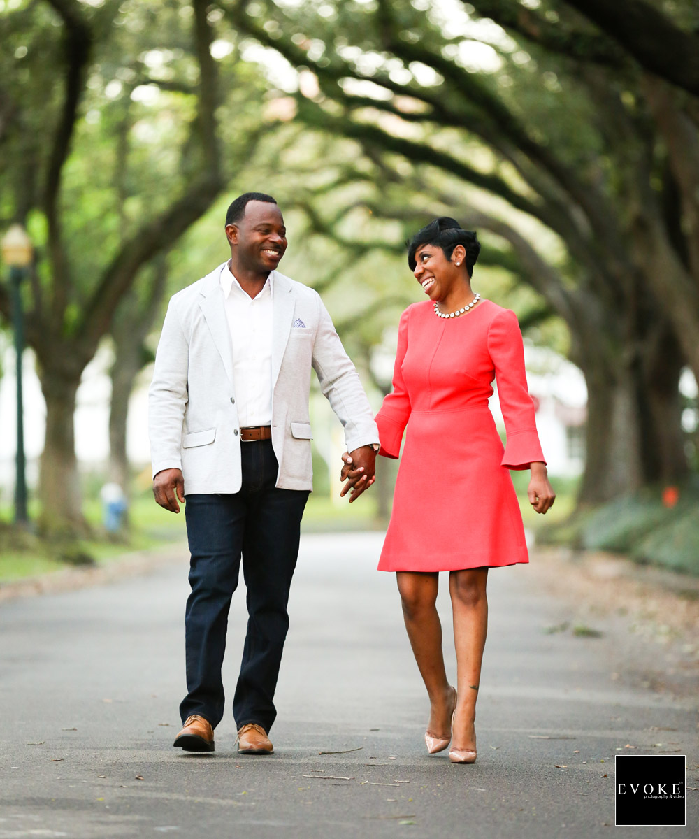 South Blvd Engagement Session by EVOKE Wedding Photography and Video