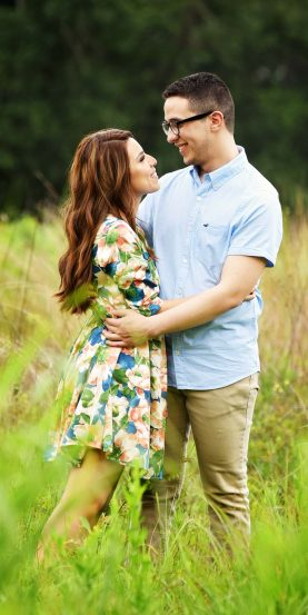 Second image from the engagement session.