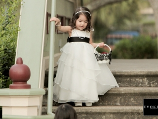 Brides Flower Girl