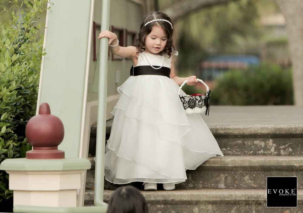 Brides Flower Girl