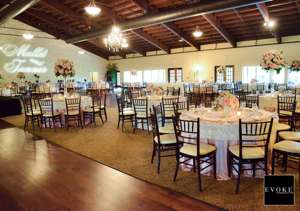 Reception Hall at Briscoe Manor