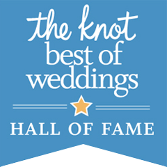 The Knot Best of Weddings Hall of Fame 2017