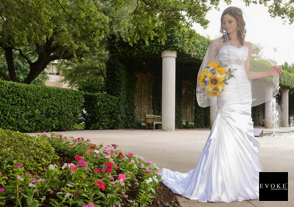Texas A&M Park Bridal Session