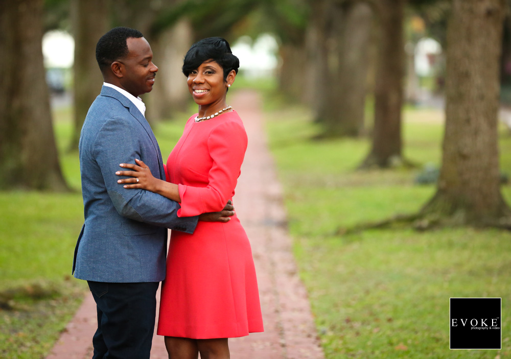 South Blvd Engagement Session