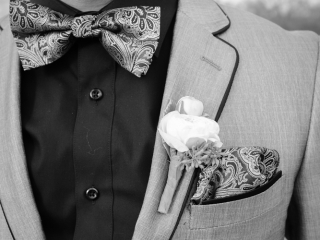 Fun wedding attire for a fun guy