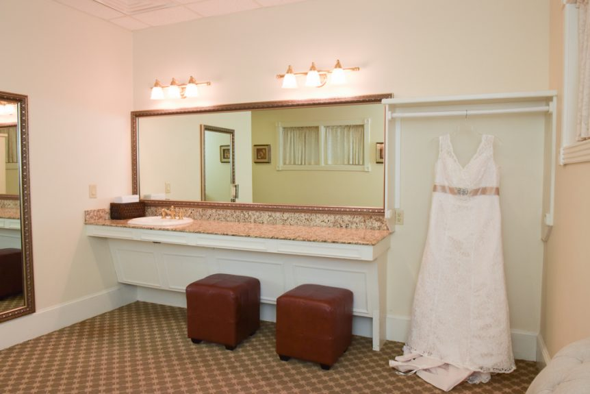 The bridal suite