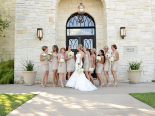A bride and her hilarious bridesmaids