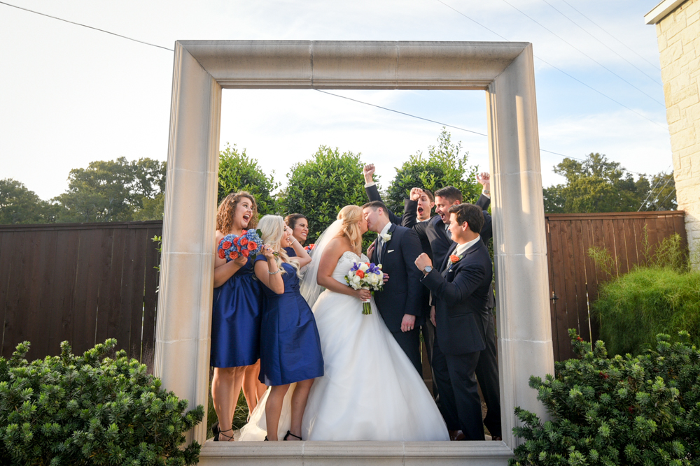 A picture perfect bridal party