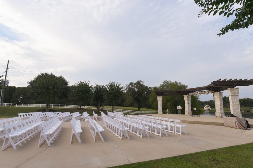 Outdoor seats waiting for guests to arrive and fill them