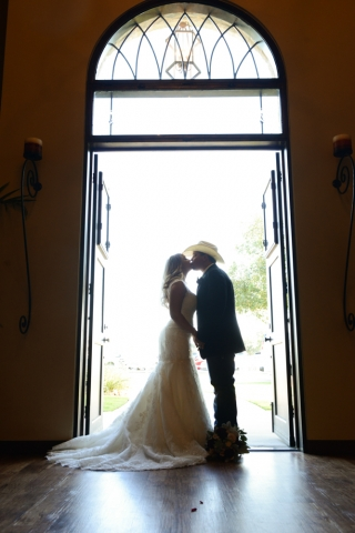 A cowboy married his sweetheart