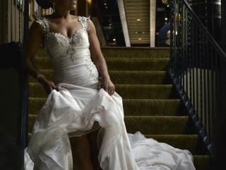 Bridal Session at Lawless Spirits and Kitchen - Rice Lofts - Crystal Ballroom