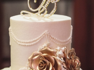 Cake at Crystal Ballroom