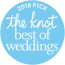 2018 Bride's pick for the Best of Weddings from The Knot. Photography and Video